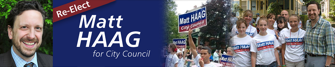 Re-Elect Matt HAAG for Rochester City Council