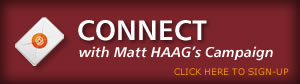 Register for email's from Matt Haag.